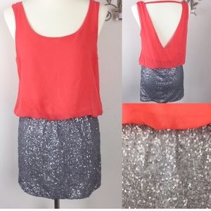 Charlotte Russe Sequined Party Dress